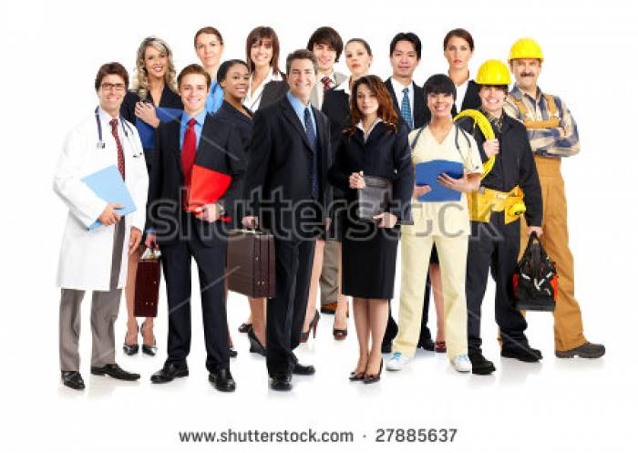 Stock-photo-business-people-builders-nurses-doctors-architect-isolated-over-white-background-27885637